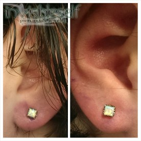 Earlobe Piercings Various INVSELF21