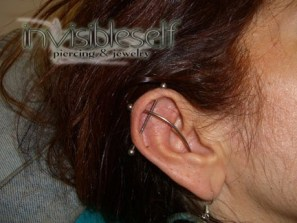 Industrial Piercings INVSELF08