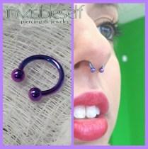 Nostril + Septum Piercings INVSELF21