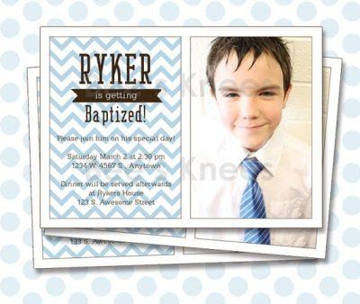 Lds Baptism Invitation Templates Free