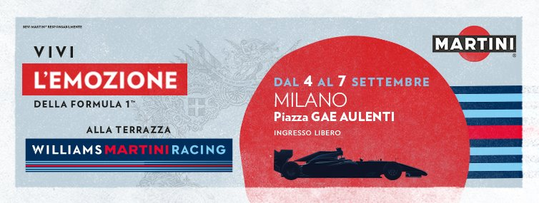 Presentazione Williams Martini Racing