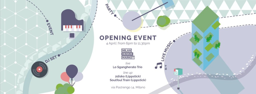 04.04 Milan Design Market Opening Event