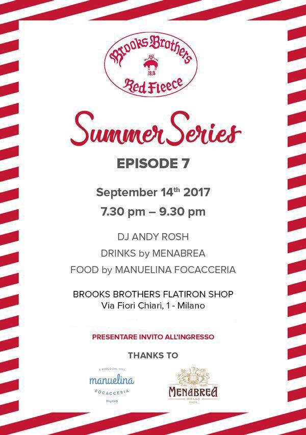 14.09 BROOKS BROTHERS SUMMER SERIES EP.7