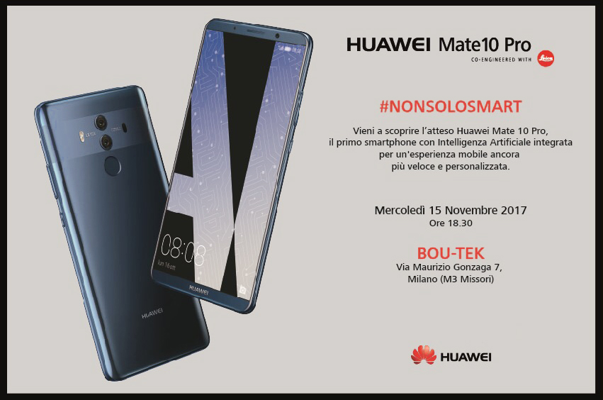 15.11 LAUNCH NEW HUAWEI Mate10 Pro