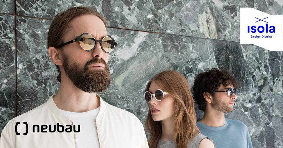 Isola Design District presents: neubau eyewear