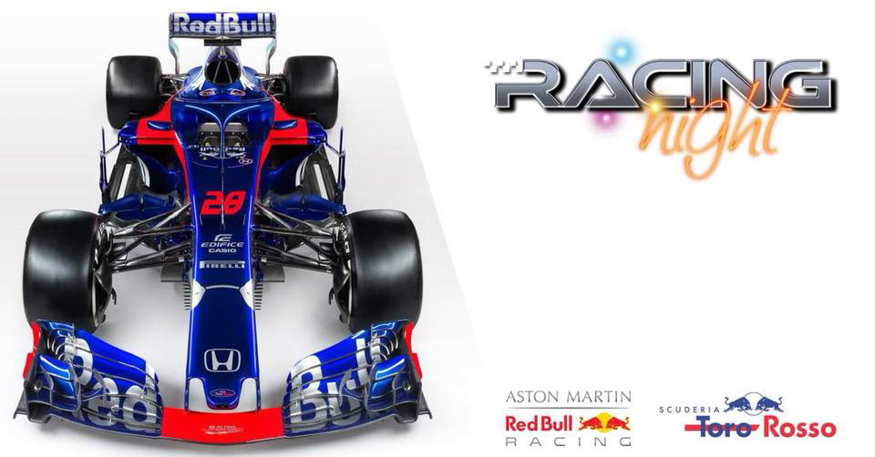 30.08 – Red bull | Racing night F1 @ Savini Tartufi