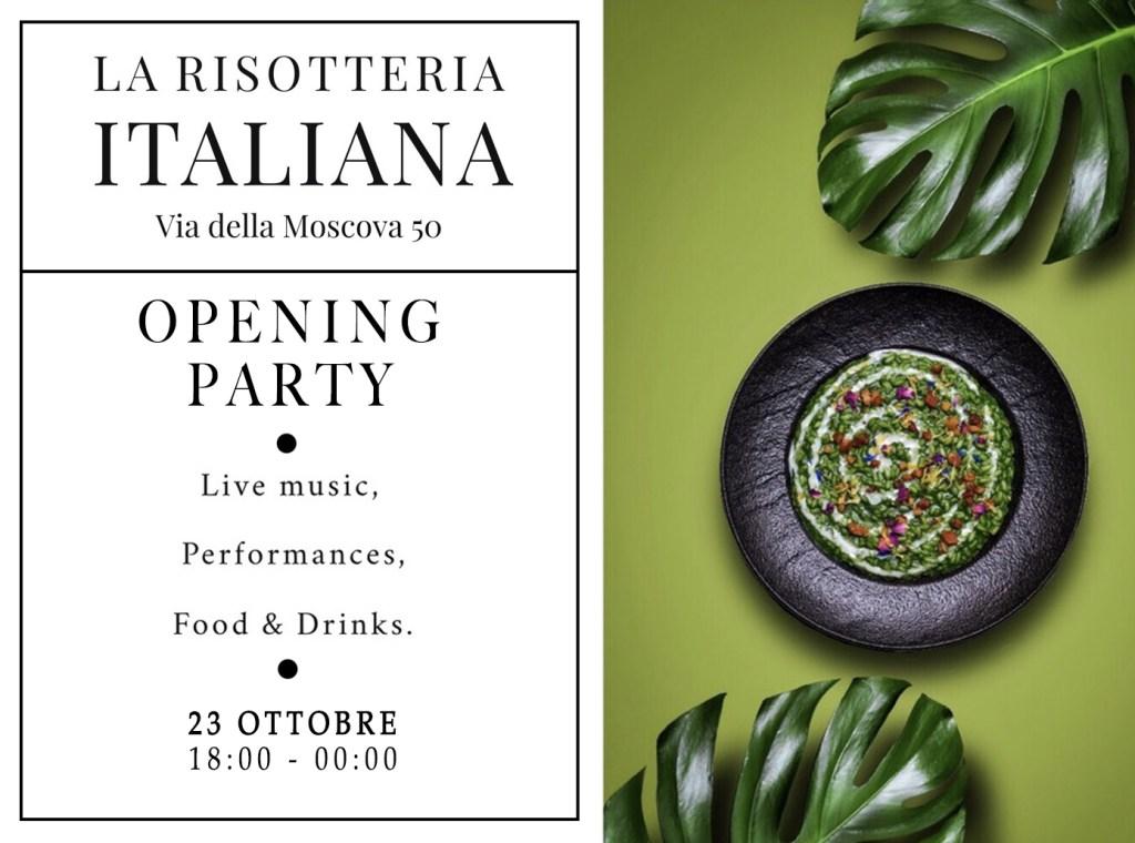 23.10_La risotteria Italiana_Opening party