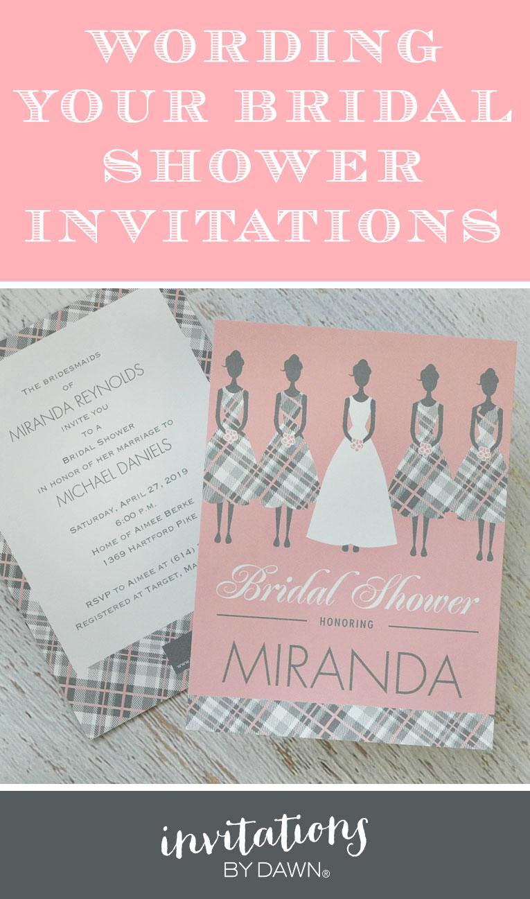 Large Of Bridal Shower Invitation Wording