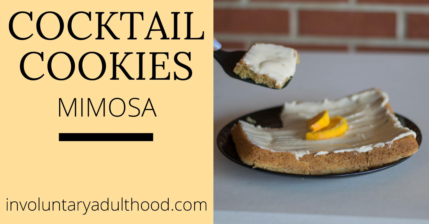Cocktail Cookies: Mimosa