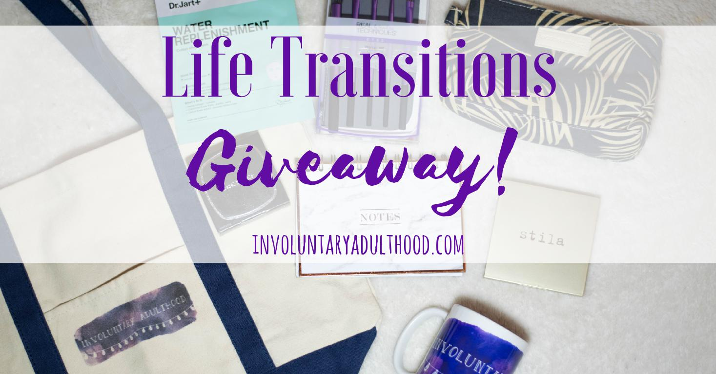 Life Transitions Giveaway!
