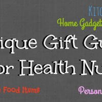 2016 Unique Gift Guide For Health Nuts