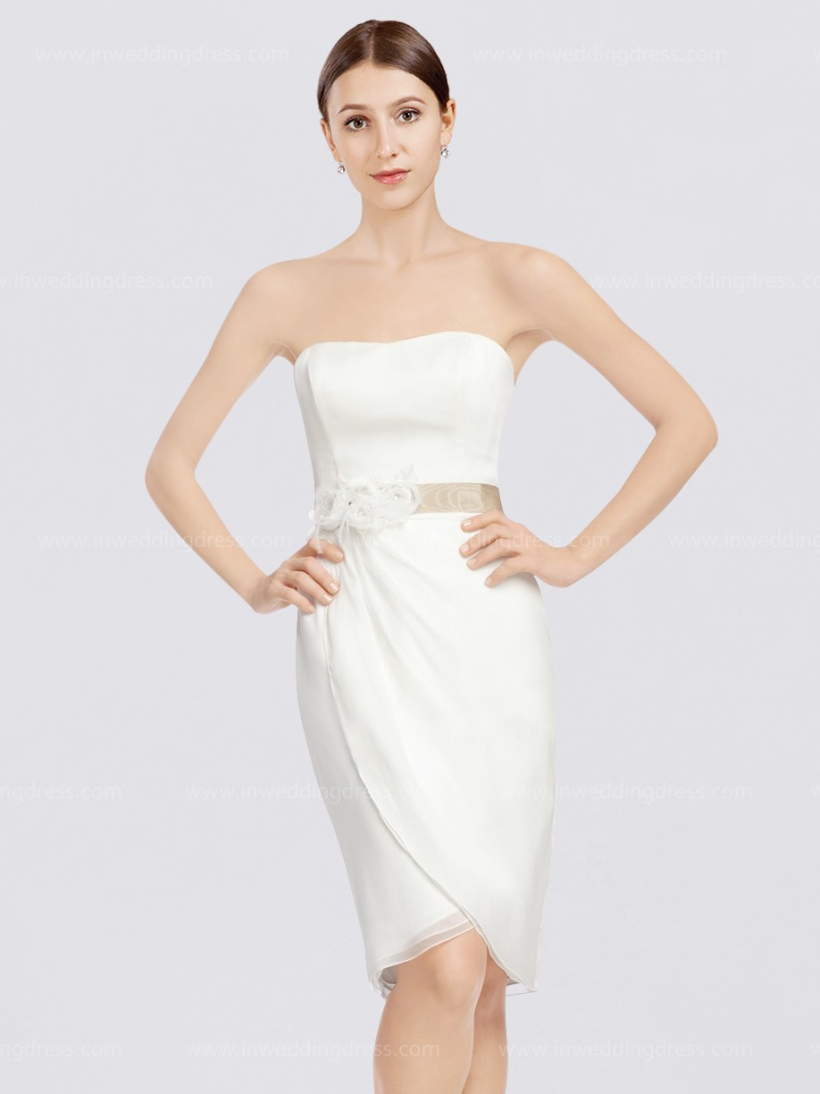 your guide to buying a beach wedding dress beach dresses for wedding Short Classy Beach Wedding Dress