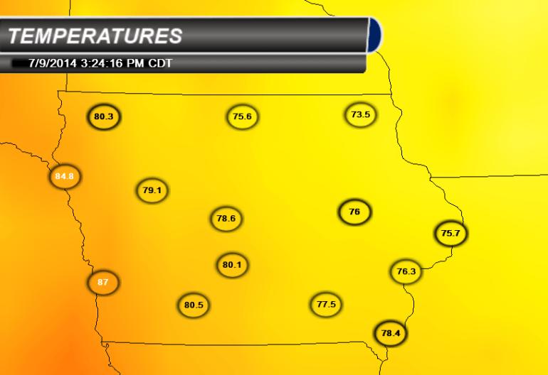 Iowa Temperatures