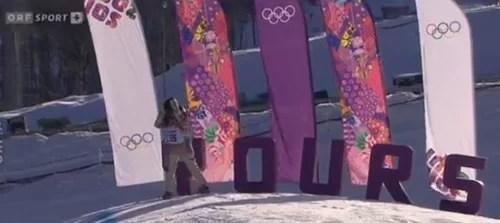Winter Olympics snowboarding online