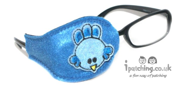 Blue Bird Orthoptic eye patch