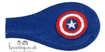 Capitan America eye patch