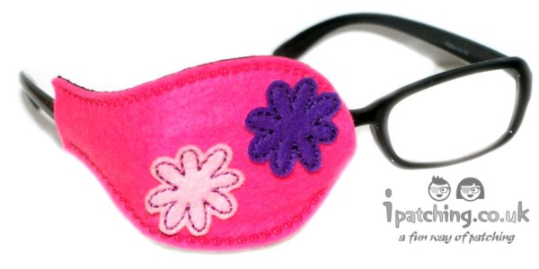 Flower Eye Patch