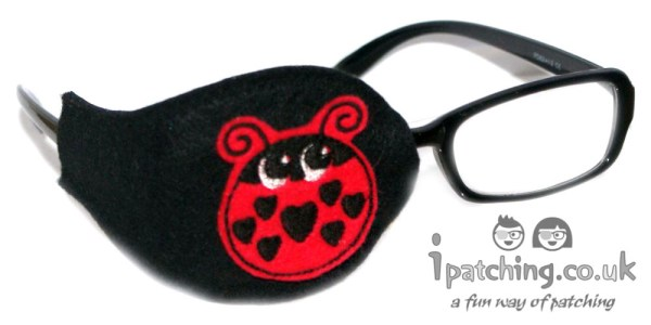 Ladybird Orthoptic Eye Patch