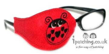 Ladybird Orthoptic Eye Patch