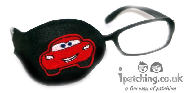 McQueen Cars eye Patch