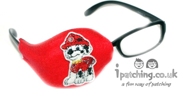 Paw_Patrol_On_Red_Plastic_Frame_Orthoptic_Eye_Patch