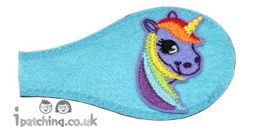 Violet_Unicorn_On_Blue_Plastic_Frame_Orthoptic_Eye_Patch