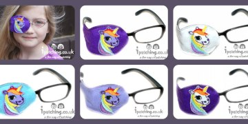 unicorn eye patches