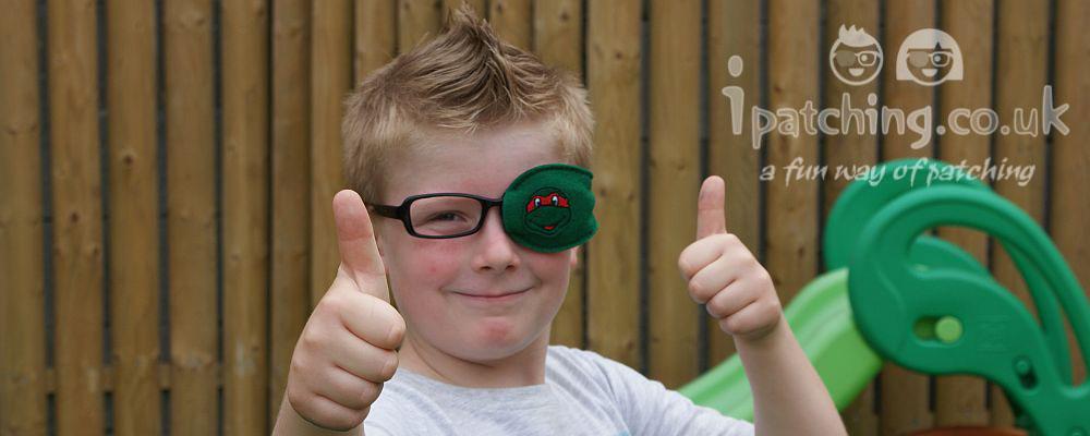 Ninja Turtle eye Patch