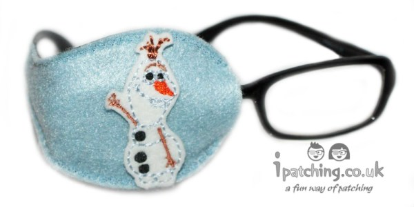 Olaf Frozen Eye Patch