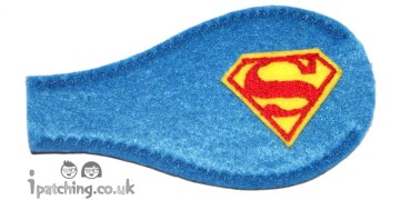 Superman Eye Patch