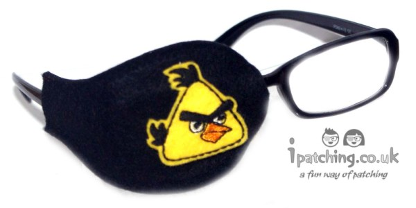 Angry Birds Eye Patch