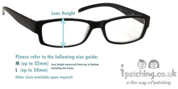 Eye Patch Size Guide