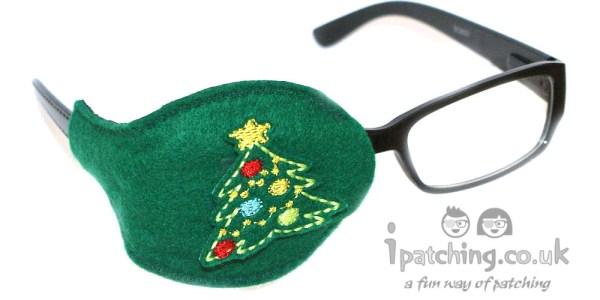 Christmas Tree Orthoptic Eye Patch