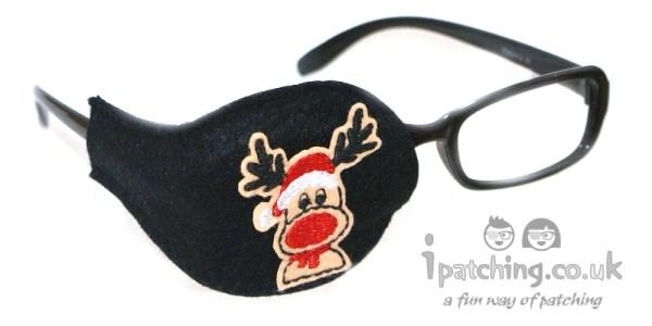 Rudolph Reindeer Orthoptic Eye Patch