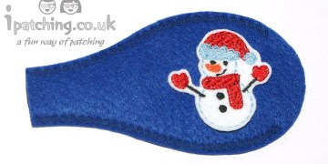 Snowman Christmas Orthoptic Eye Patch
