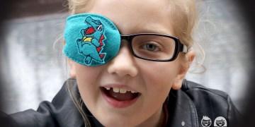Totodile Pockemon Orthoptic Eye Patch