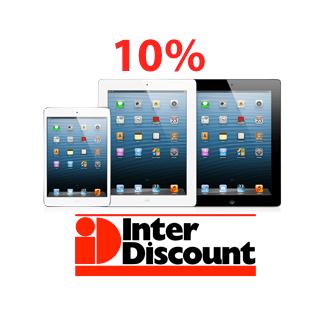 Interdiscount gibt heute 10% auf iPads…