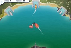 Schiffe in den Hafen lenken und endladen mit Harbor Master