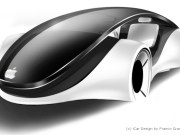 Design Entwurf für ein Apple auto von Franco Grassi