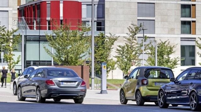 Daimler Parkplatzsuche