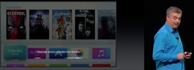 TVOS Siri WWDC 2016