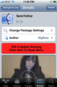 step9 199x300 SemiTethered JailBreak iOS 5