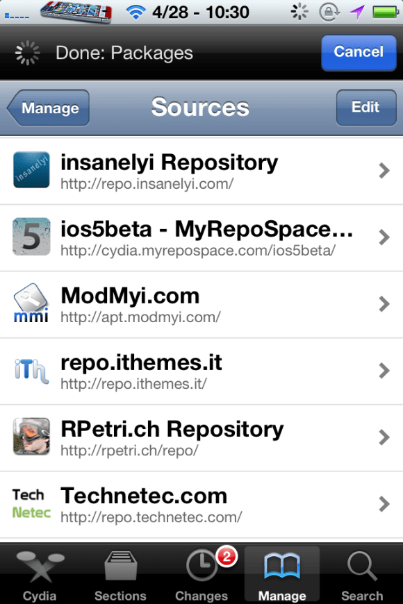 repo1 Best Sources For iPhone 4S and iPad 2{Updated April 28, 2012}