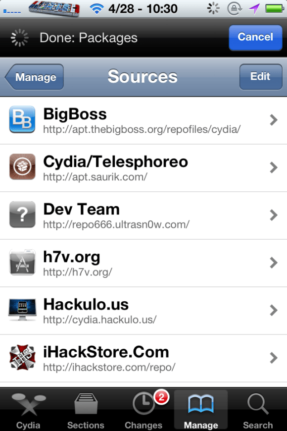 repo2 Best Sources For iPhone 4S and iPad 2{Updated April 28, 2012}