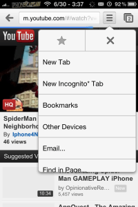 chrome1 200x300 Google Chrome Comes To iOS: Download Inside (Video Review)