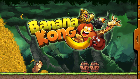 bananaKONG Banana Kong iOS Device: Donkey Kong Clone But Much Better
