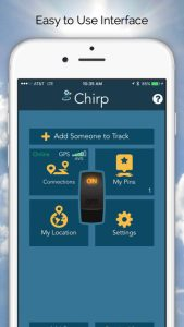 chirp phone tracker