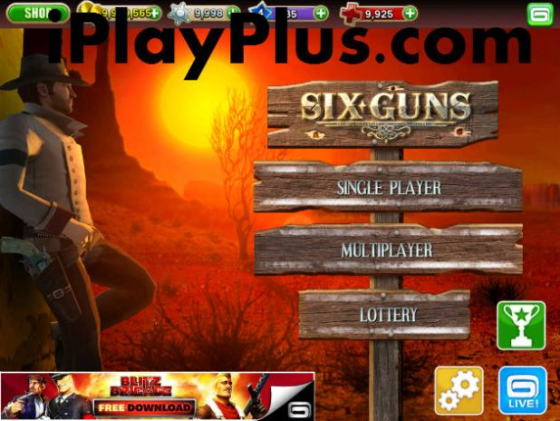 Six-Guns cheat
