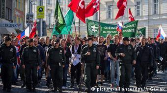 Διαδηλώσεις εναντίον προσφύγων στη Μπρατισλάβα