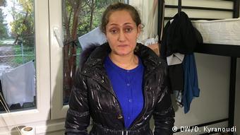 Η Μονίνα είναι Γεζίντι από το Β. Ιράκ. Οι μνήμες του ΙΚ είναι ακόμη ζωντανές